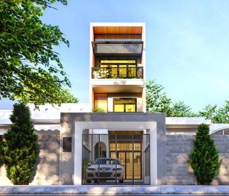 Tư vấn thiết kế xây dựng nhà lầu mái bằng