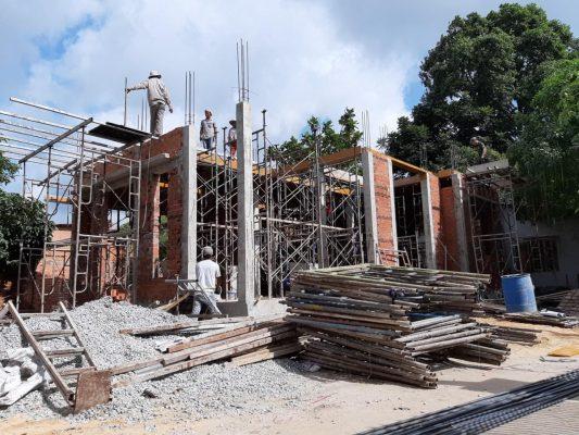 Nhà thầu xây dựng thi công phần thô